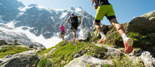 Trail en montagne